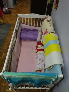 Baby Cot in SET