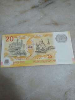 Singapore Brunei 40 Years Collector's Note