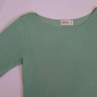 ZARA Wide Collar Shirt - Mint