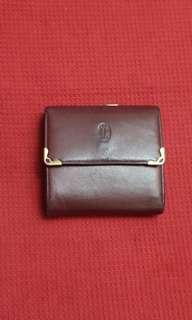Authentic Must de Cartier Bifold Wallet