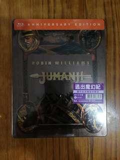 港版 逃出魔幻紀 Jumanji 鐵盒 藍光 Steelbook Blu ray