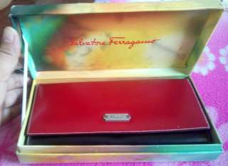 Authentic Ferragamo wallet with box