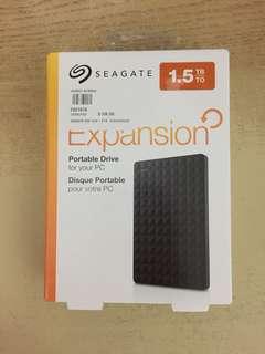 BNIB SEAGATE EXPANSION 1.5TB
