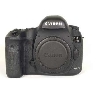 Canon EOS 5D3  盒裝 背帶 說明書 光碟 電池*1 水 (CB020)