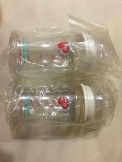 2 x 200 ml Pigeon Baby Bottles