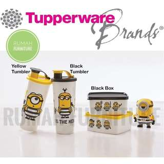 Minion Tumbler Come With Free Lunch Box
