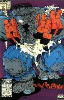 Incredible Hulk # 355 ( Hot Todd McFarlane cover )