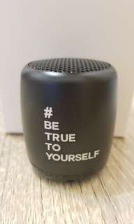 Mini Bluetooth Speaker #Be Ture To Yourself
