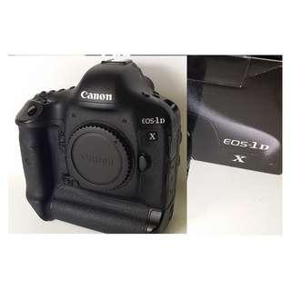 [9.5成新]Canon EOS 1DX 盒裝 背帶 光碟 說明書 端子線材 充電器 (CB022)