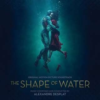 OST The Shape Of Water 忘形水by Alexandre Desplat CD 2018 (包郵)