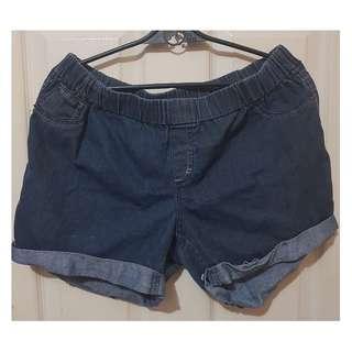 imported Plus-size Denim Shorts