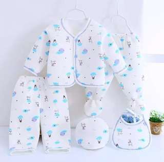 5 pieces/set Baby Clothing Set