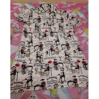Printed Semi Dress