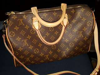 LV SPEEDY MONOGRAM 35