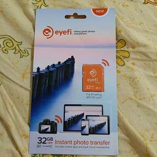 全新 32GB Eye fi sd card class 10 eyefi 數碼數機記憶wifi卡 水貨無單
