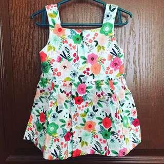 MTO baby dress 1-2T