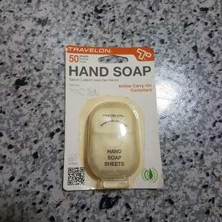 Travelon Hand Soap 50 sheets $5