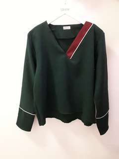 Dark Greeny Long Sleeve