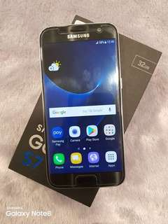 SAMSUNG S7 FLAT FULL BOX LIKE NEW SALE@SWAP