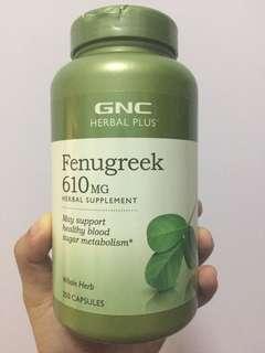 GNC Fenugreek