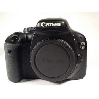 Canon EOS 550D  盒裝 充電器 背帶 傳輸線 公司 (CB027)