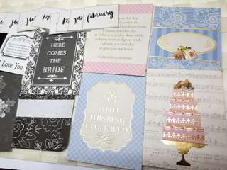 Wedding Quotes Journal cards