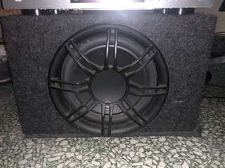 JL sealed subwoofer 10 inch