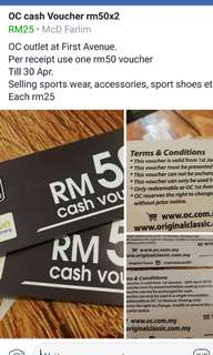 Oc cash voucher penang