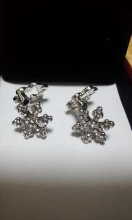 Earrings 韓國雪花耳環
