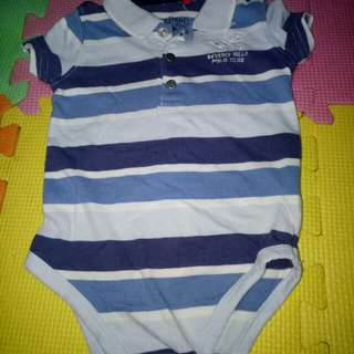 Beverly Hills Polo Club Romper(Size 6-12M)