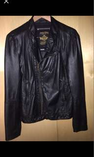 Like New | Industry men's leather jacket | Size S