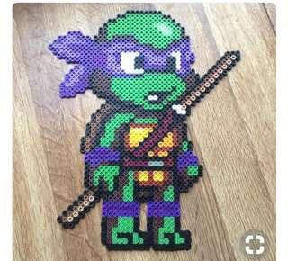 Ninja Turtles Hama designs