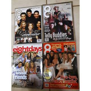 8 Days magazines  - Friends issues