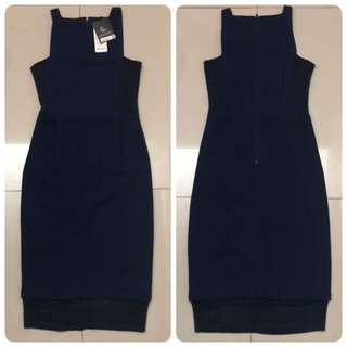 BNWT Doublewoot Dress (Navy)