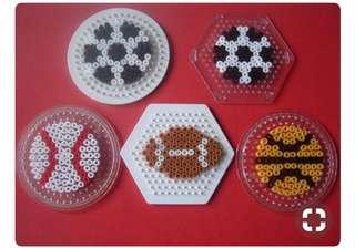 Sports Keychain Hama designs