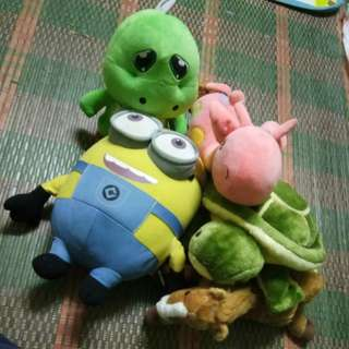 All soft toys for RM30