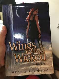 Wings of the wicked - hardbound
