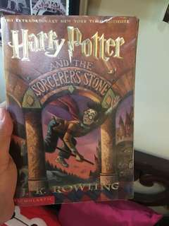 Harry Potter books - first edition!