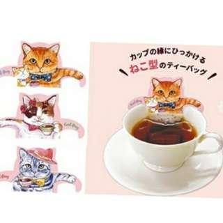 【現貨】🐱日本Cat Cafe系列貓咪泡湯茶包🐱
