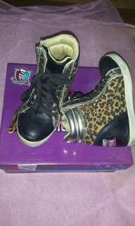 Monster High wedge shoes