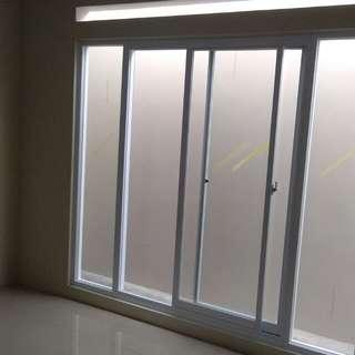Alumunium jendela geser