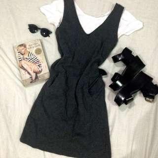 Grey to go dress