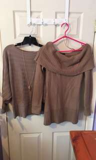 2 Sweaters Bundle - Size Small/Medium