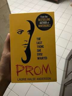 Prom - Laurie Halse Anderson