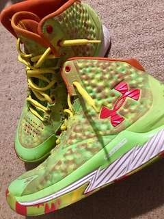 stephen curry rubber shoes