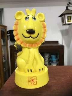Vintage CMF Lion Coin Bank