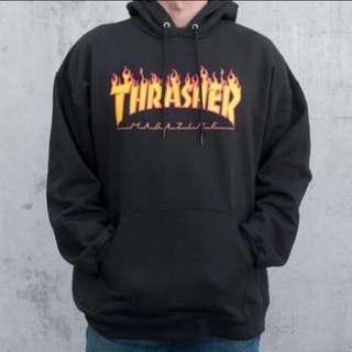🚚 Thrasher 火焰 帽t XL