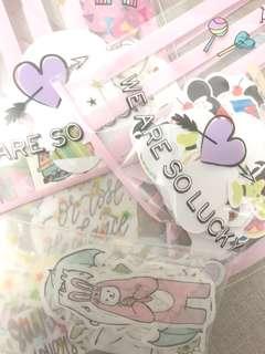 cute/tumblr stickers grab bag