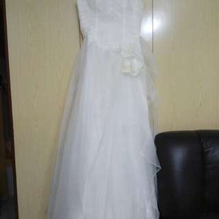 Wedding gown 全新簡約婚紗