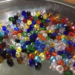 Bright and Colourful 4mm Beads